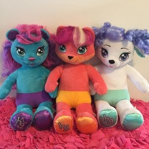 Honey Girls: Build-A-Bear Set of 3